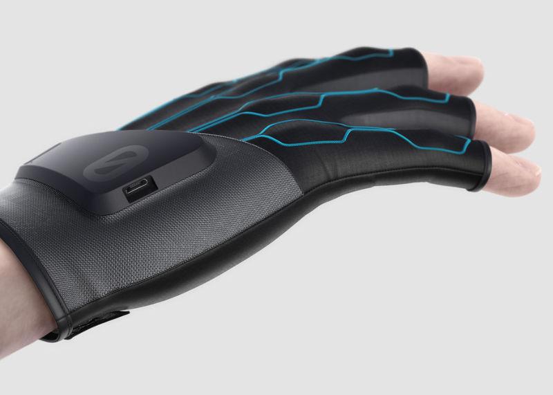 Futuristic VR Gloves