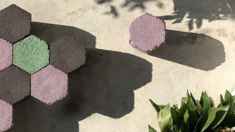Upcycled Polystyrene Furniture
