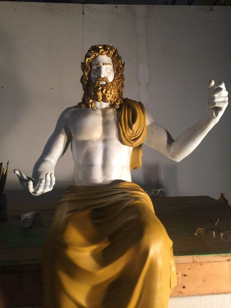 3D-Printed Ancient Statues