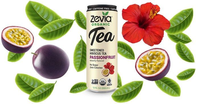 Canned Calorie-Free Teas