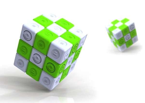 Rubik's Cube Phone Chargers