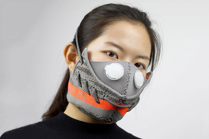Deconstructed Sneaker Masks