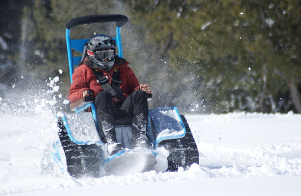 Extreme All Terrain Wheelchairs Ziesel Off Road Vehicle