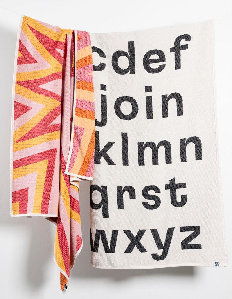 Artist-Designed Cotton Blankets