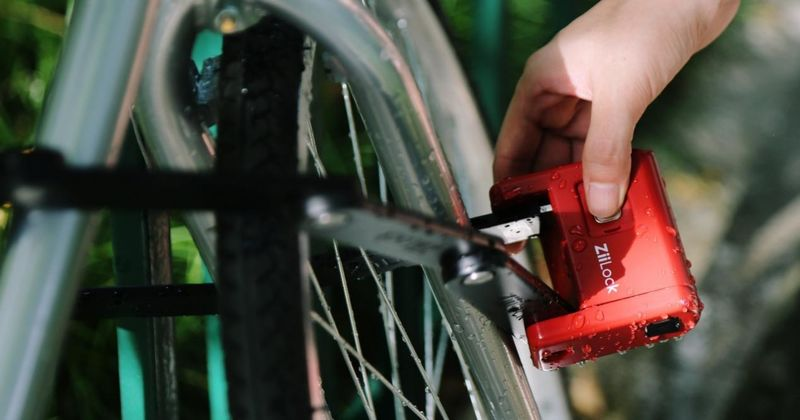 Foldable Smart Bike Locks