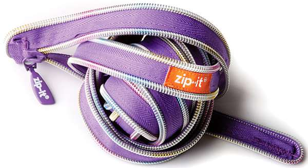 Unravelled Zipper Sacks