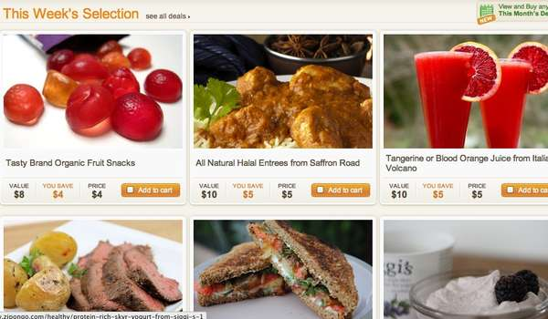 Personalized Health Food Deals