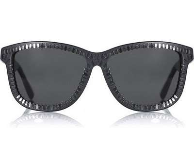 Zipper Hipster Shades