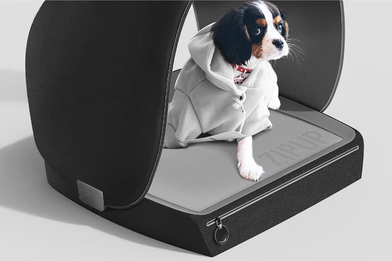 Fur-Capturing Pet Beds