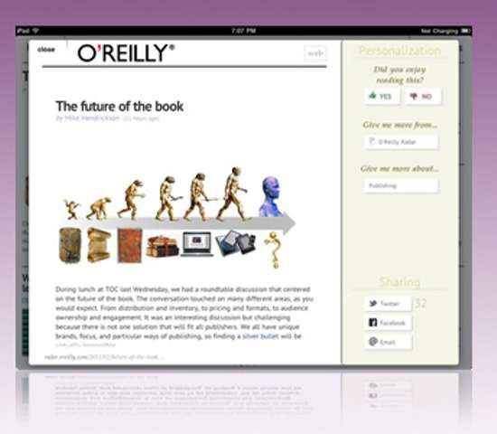 Personalized Tablet Publications