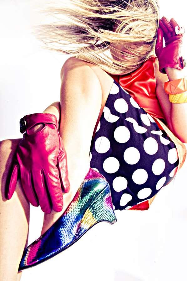 Vibrant Pop Art Photoshoots