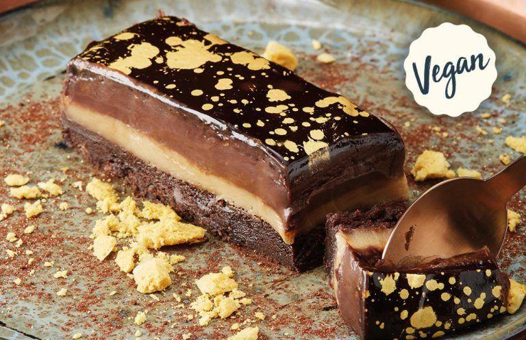Vegan Salted Toffee Desserts