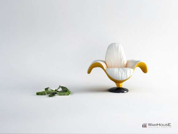 Banana-Shaped Seating