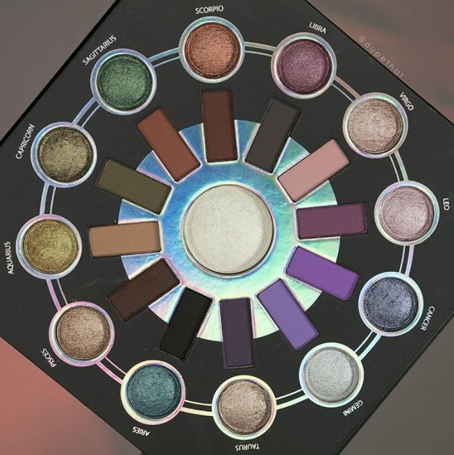 Zodiac-Inspired Makeup Palettes
