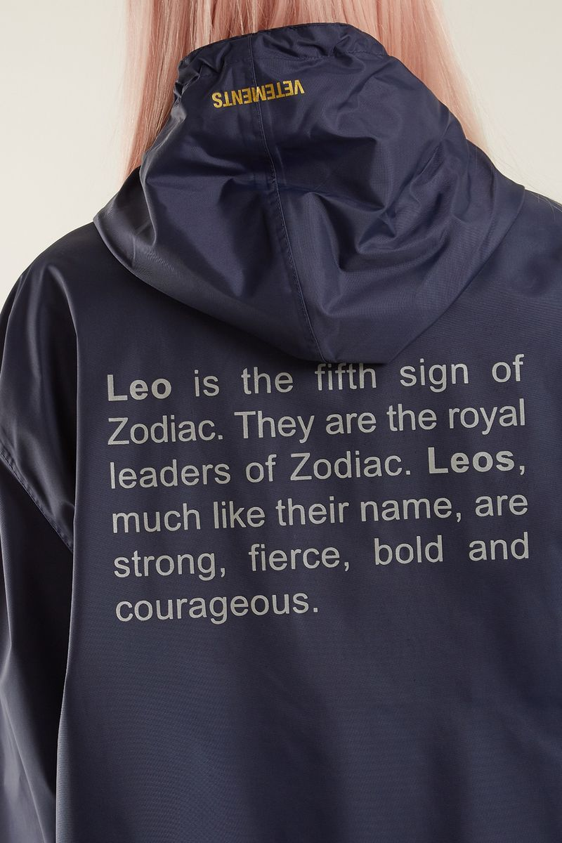 Zodiac-Inspired Raincoats
