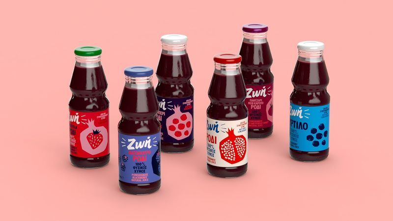 Youth-Inspired Juice Branding