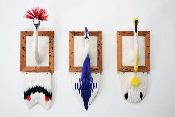 Exotic Wool Taxidermy