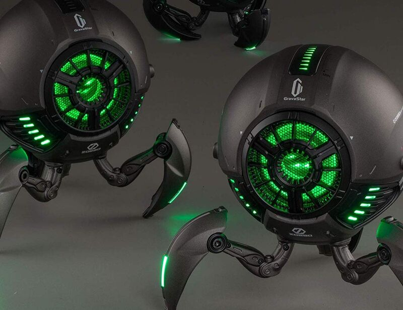 Otherworldly Robot Speakers