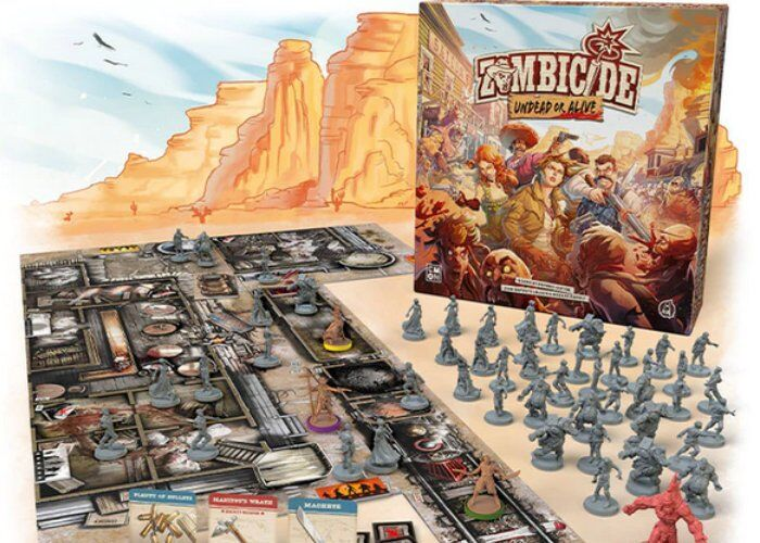 Western-Themed Zombie Board Games