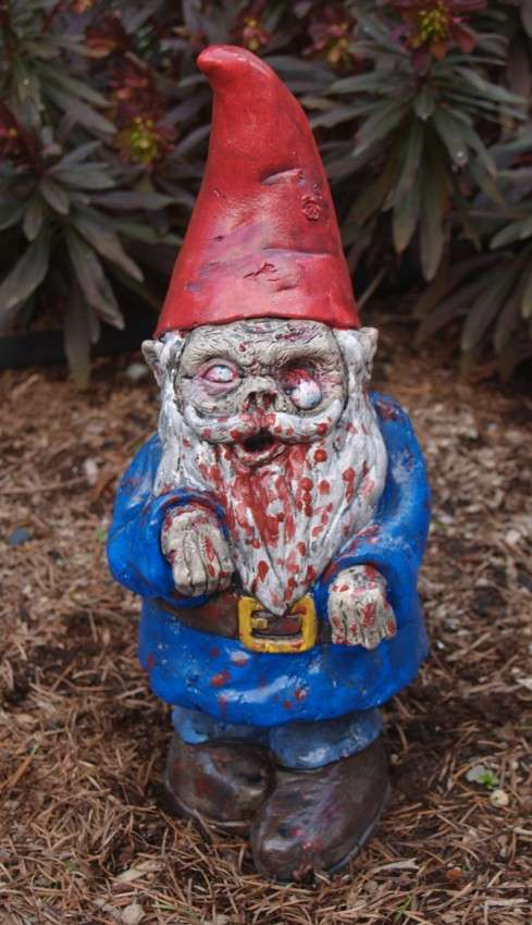 Disturbing Yard Decor