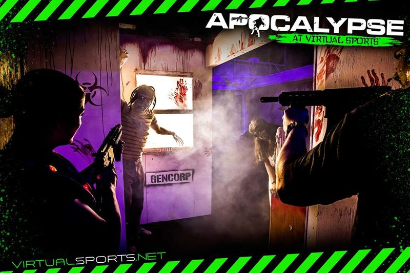Zombie Laser Tag Games