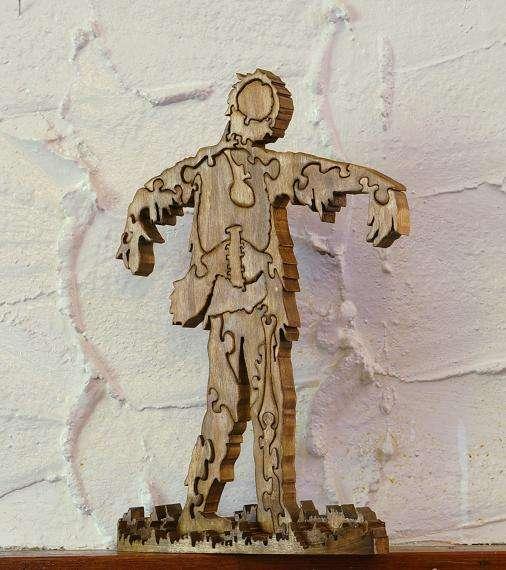 Disintegrating Undead Toys