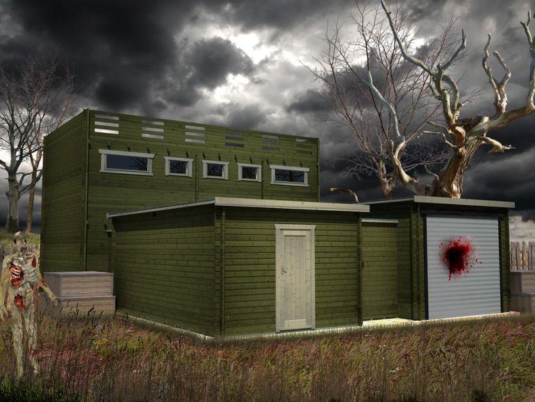 Zombie Proof Cabins Zombie Proof