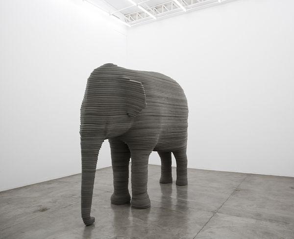 Cushy Abstract Animal Art