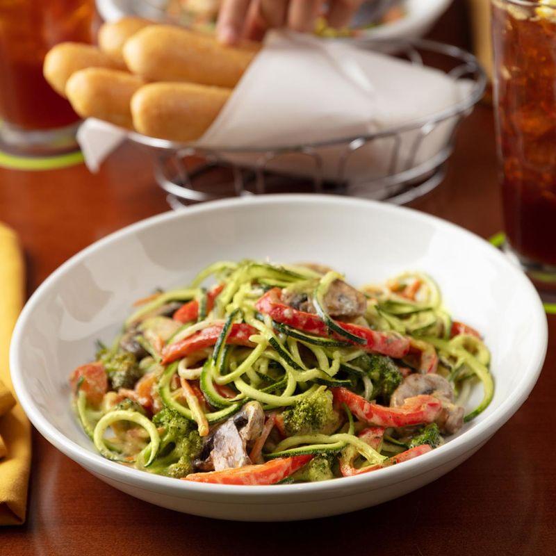 Creamy Zucchini Noodle Pastas