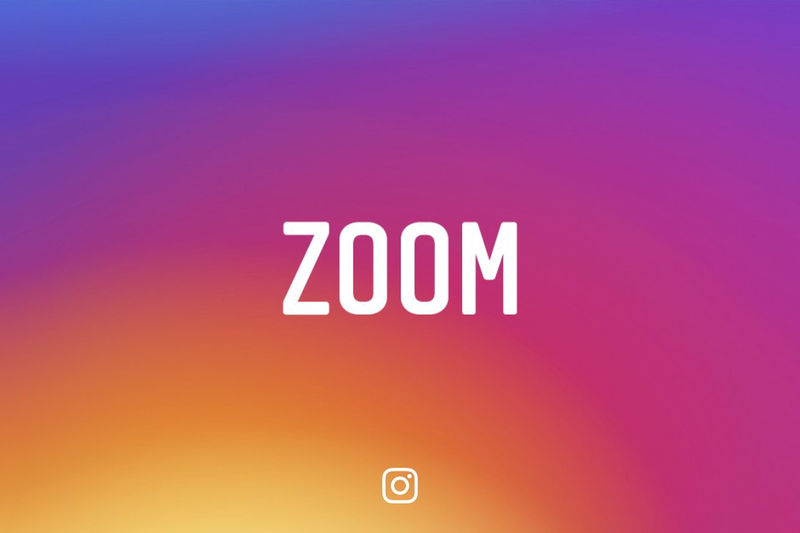 Photo-Zooming Social Updates