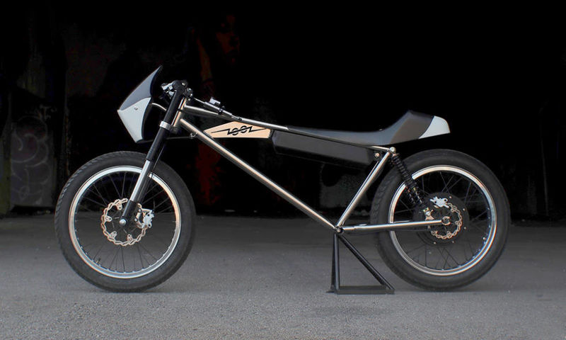 Skeletal Electric Motorcycle Concepts