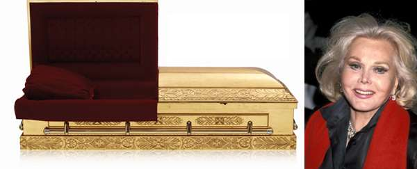 Golden Celeb Coffins