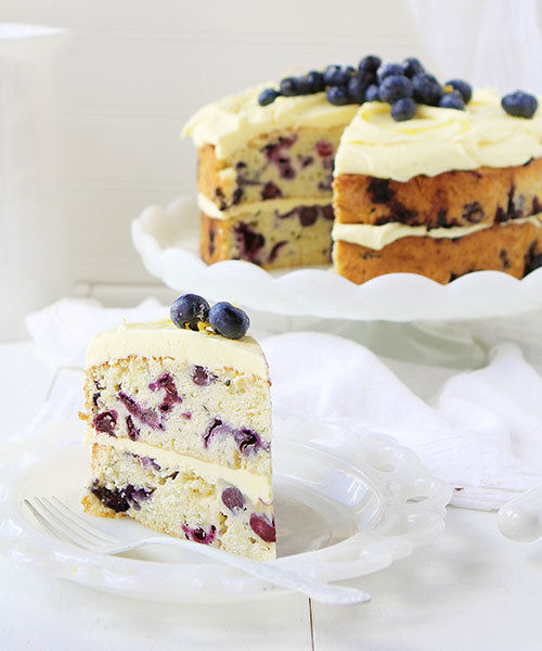 Blueberry Zucchini Desserts