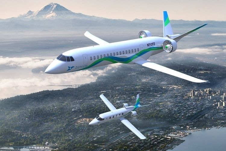 Extended Range Electric Jets