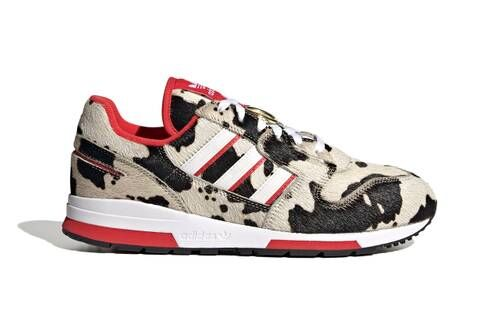Cow-Printed Casual Sneakers