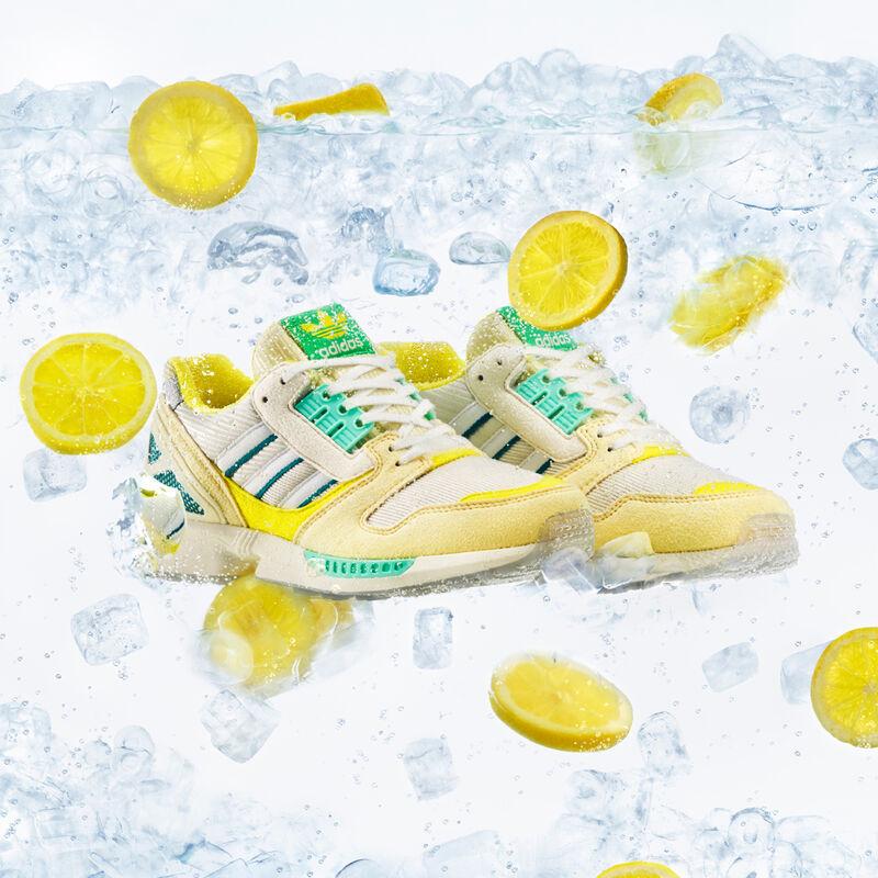 Playful Lemonade-Inspired Sneakers