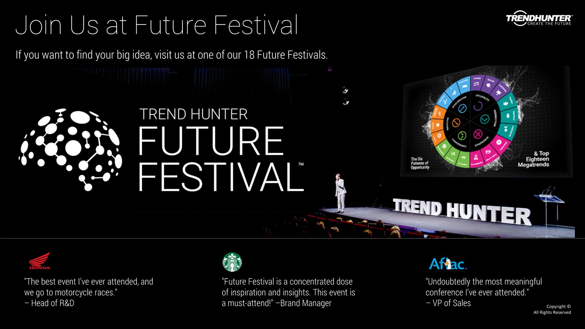 Image Slide: Join us at Future Festival